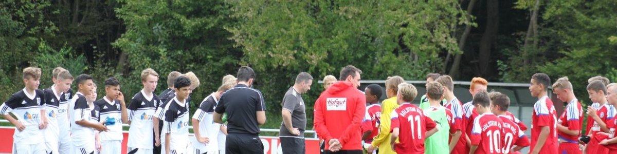 U 15 - Testspiel bei Holstein Kiel