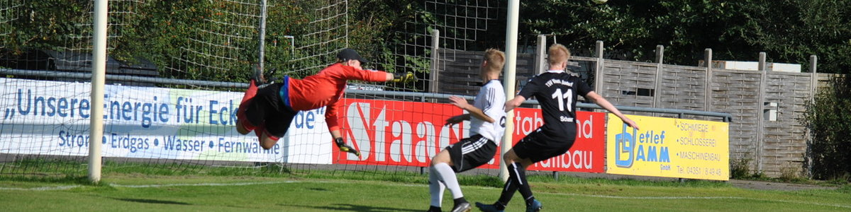 ESV U23 - Vineta Audorf 0:3 (0:1)