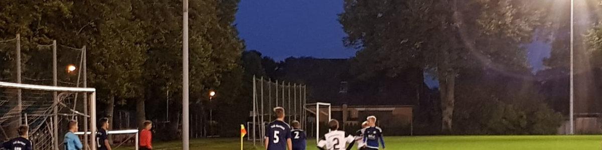 U15: Flutlichtspiel endet 2:8