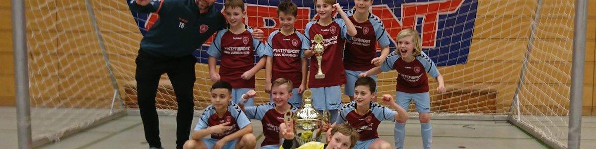 SC Weiche Flensburg 08 gewinnt MARKANT CUP bei der E-Jugend