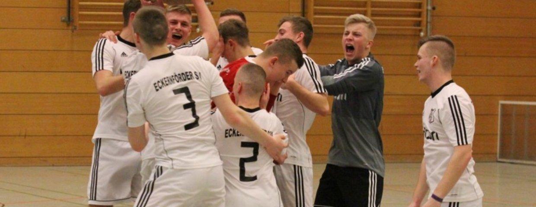 Unsere U19 greift sich den Futsal-Kreismeistertitel
