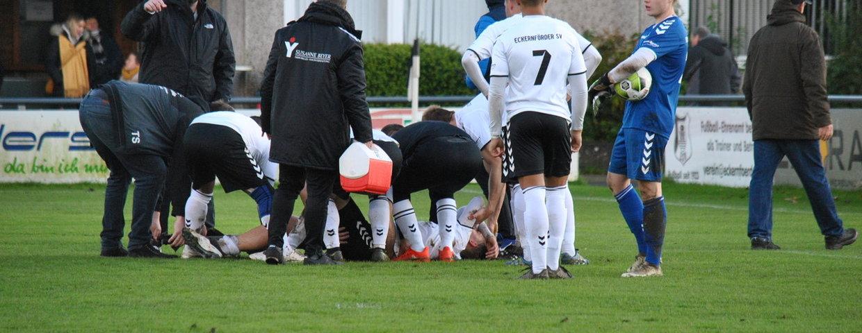 U23: Verletzung von Timo B. überschattet Spiel