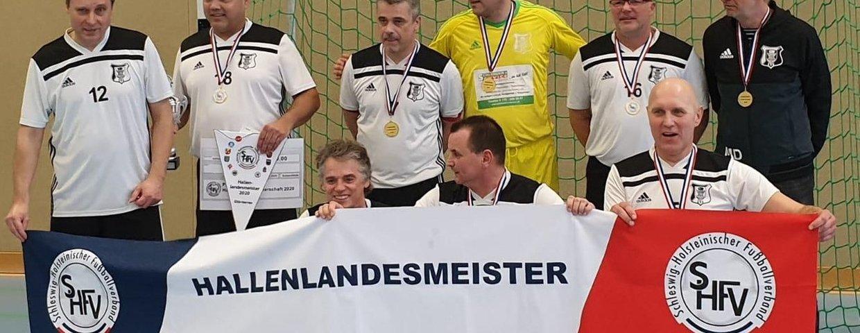 Ü50-Oldies sind Hallen-Landesmeister 2020