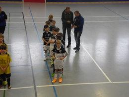 IndoorCup 2015 E-Jugendteams beim TSV Süderbrarup